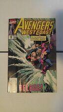 The West Coast Avengers #59 June 1990 Marvel Comics Iron Man Hawkeye Endgame