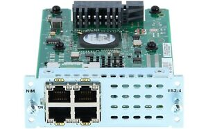 ⭐ CISCO NIM-ES2-4 Module 4x10/100/1000 Gigabit ISR 4000 Series 4331 4351 4451