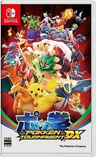 Nintendo Switch Pokken Tournament Video Game Battle Gaming Games PreOrder