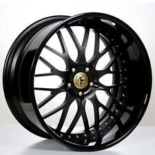 "4ea 24"" AC Forged Wheels Rims 313 BK/Gold 3 pcs (S2)"