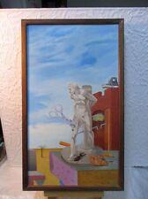 Tableau figuratif signé D. Compan