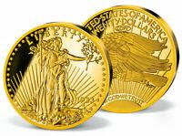 "Gedenkmünze,  Sammlerstück,  ""1933 Gold Double Eagle, vergoldet"