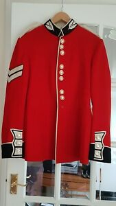 Scots Guards Reg. Corporal Ceremonial Full Dress Tunic &Trousers British Army