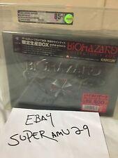 Nintendo GameCube BIOHAZARD Collector's Box VGA GRADED 85+ ARCHIVAL CASE