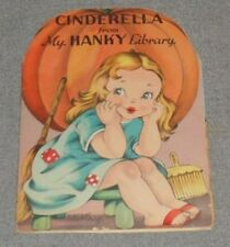 Very Rare Vintage - My Hanky Library - Cinderella Graphics by Margot Voigt
