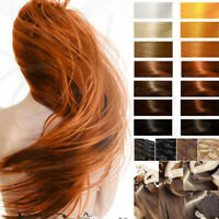 """100% Real Clip In Remy Human Hair Extensions 18"""" 20"""" 22"""" 24"""" Full Head US Seller"""