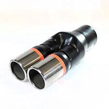 Twin Exhaust Tip Trim Pipe For BMW E34 E39 E60 E61 E63 E64 F10 F11 F12 F13