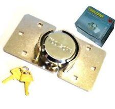 Van Security Padlock & Hasp Set Concealed Door Lock + Fixing Kit