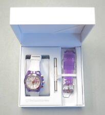 TechnoMarine Watch Cruise Beach Chronograph Purple Flower Silicone NEW! 31893