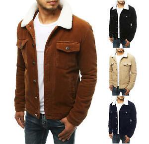 Cordjacke Übergangsjacke Sweatjacke Jeansjacke Jacke Vintage Herren DSTREET