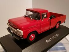 1/43 FORD F-100  PICKUP TRUCK IN RED 1959