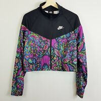 NIKE | Womens Print Cropped Jacket [ Size M or AU 12 / US 8 ]