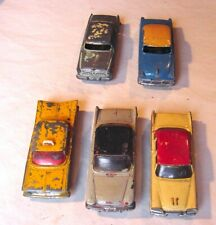 5 Voitures/cars Dinky toys &+ vintage 1960 Impala Desoto Dodge Plymouth Chrysler