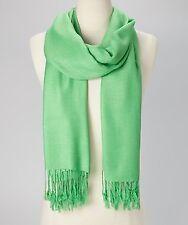 Pashmina Cashmere Scarf Shawl Wrap Solid Stole Silk Soft Women Men Wool Blanket
