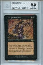 MTG Urza's Saga Yawgmoth's Will BGS 6.5 EX-MT+ card with 9.5 centering WOTC 8590