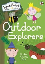 Ben And Holly's Poco Kingdom: Exterior Exploradores Adhesivo Actividad Libro
