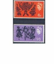 Great Britain 1965 ARTS FESTIVAL(2) SG 669-70 Unhinged Mint