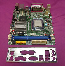PEGATRON ipx41-r3 rev:1.01 Socket 775 carte mère and back plate TESTED