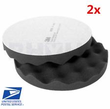"3M 05725 8/"" Perfect It Foam Polishing Pad Flat Back Auto Detail 2 Pack 5725"