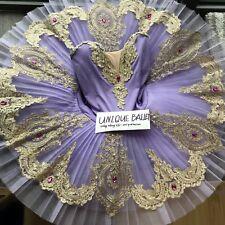 Adult Ballet Tutu Costume Dress Sleeping Beauty Lilac Fairy Kids Dance Platter