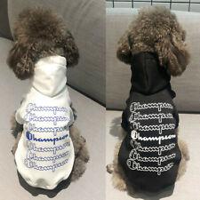 Popular Black White Pet Dog Pet Cat Clothes Winter Hoodie Sweatershirt Jacket