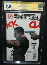 Punisher #3 - NYCC Alex Maleev Skull Sketch Cover #2 of 5! CGC Sig 9.8 - 2016
