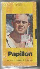 """VIDEOCASSETTA VHS""""PAPILLON""""REGIA DI FRANKLIN J. SCHAFFNER,CON STEVE MCQUENN,BLIS"""