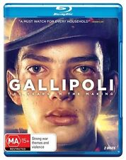 Gallipoli : Blu-ray NEW & SEALED - 2015 2-Disc Set  ANZAC WWI Australia Series