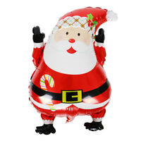 Gift Christmas Aluminum Foil Balloons Birthday Wedding Party Santa Claus Decor