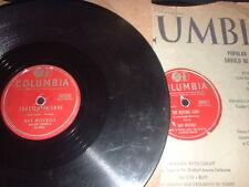 78RPM 2 Guy Mitchell on Columbia, Heart Cries 4U, Singin Blues, Crazy,Roving V-