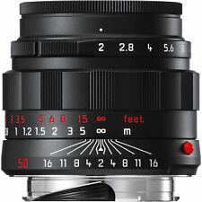 New Leica APO-SUMMICRON-M 50mm F2 f/2 ASPH. Black Chrome 6-Bit M 240 M9 11811