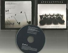 APOCALYPTICA Enter Sandman w/RARE EDIT PROMO DJ CD single METALLICA remake cover