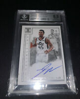 2017-18 Panini Impeccable Indelible Ink Donovan Mitchell /99 BGS 8.5 Rookie Auto