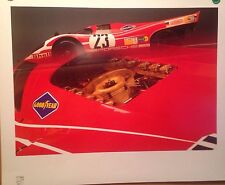 Porsche 1970 917#23 LeMans Winner Porsche Original Car Poster! Own It!! Last One