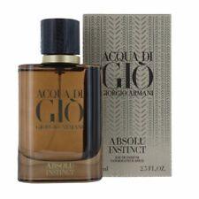 Giorgio Armani Acqua Di Gio Absolu Instinct Cologne Eau De Parfum 2.5 OZ 75