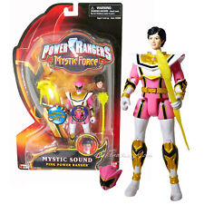 """NEW Bandai Power Rangers Mystic Force 5.5"""" Tall Action Figure MYSTIC SOUND PINK"""
