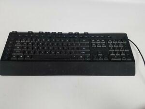 Microsoft Sidewinder X4 Keyboard 1421 Backlit Red KU-0951 Works