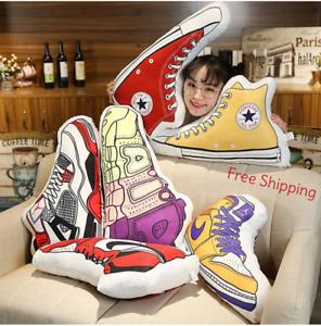 JORDAN Air AJ Basketball Shoes Men Cartoon Pillow Home Decor Creative Plush Toys