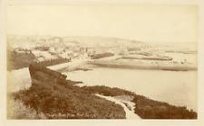 Angleterre, Guernesey, Saint-Peter's port, vue prise du fort George  Vintag