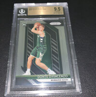2018-19 Panini Prizm Donte Divincenzo Rookie Base #246 BGS 9.5 Gem Mint 🚀🚀🚀