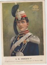 ITALIA 1936 FASCISMO PROPAGANDA LANCIERI DI AOSTA ,S.M.UMBERTO 1 ° DALLA SOMALIA
