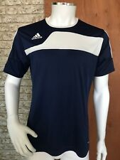 Adidas - T-shirt  - Mens - Retro - Navy Blue - Size Medium