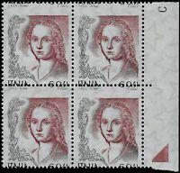 2003/2004 - Donna nell'arte - € 0,41 Blocco di 4 - Varietà (n.2725)