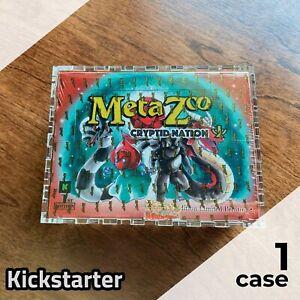 MetaZoo Kickstarter Booster Box Display Case | Framing-Grade Acrylic, lasercut