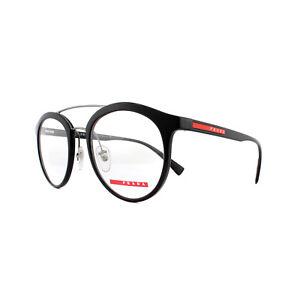 Prada Sport Glasses Frames PS 01HV 1AB1O1 Black 50mm Mens