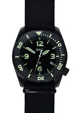 "MWC ""Depthmaster"" 100atm / 3,280ft / Water Resistant Military Divers Watch -Auto"