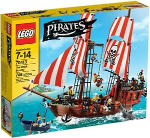 LEGO PIRATES 70413 The Brick Bounty BRAND NEW and SEALED!
