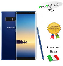 "SAMSUNG N950F GALAXY NOTE 8 6.3"" OCTA CORE 64GB RAM 6GB 4G LTE TIM BLUE"