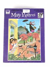 WHITMAN Vintage 100 Pieces MARY POPPINS Jigsaw Puzzle 14x18 In