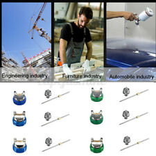HVLP 2008 Spray Gun Kit Gravity Feed Vehicle Car Paint 1.4mm 1.7mm 2.0mm Nozzle